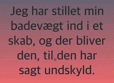 sjove danske citater badevægt   Sjove Danske citater og ordsprog   Kærlighed.nu sjove danske citater