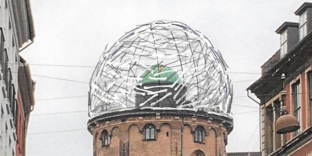 Rundetårn får nu alligevel ikke kuppel og rutsjebane, som der ellers var planlagt.