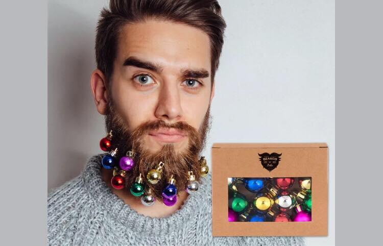 Gå all in til jul - julekugler i skægget er et must