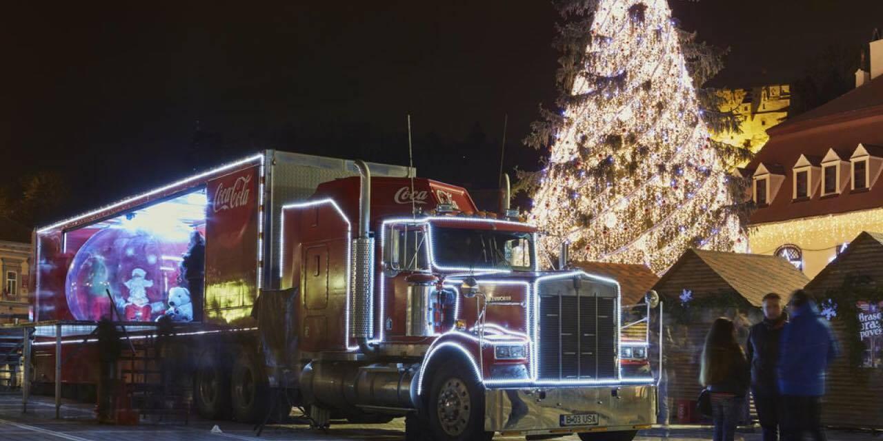Nu kommer den endelig tilbage - Julelastbilen fra Coca Cola kommer til Danmark for første gang i seks år