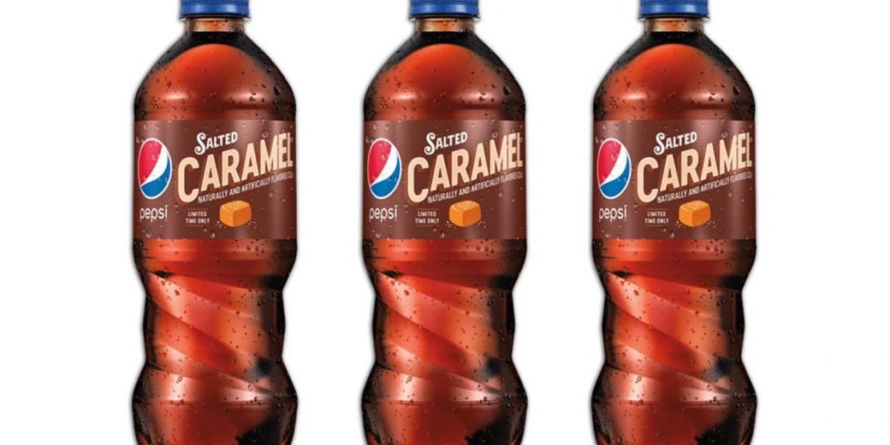 Elsker du Pepsi-cola? - nu kan du få det med smag af saltkaramel