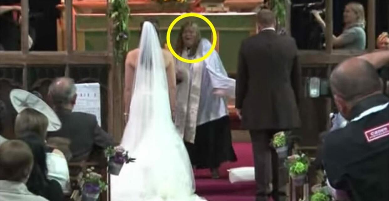 Bryllupsgæsterne