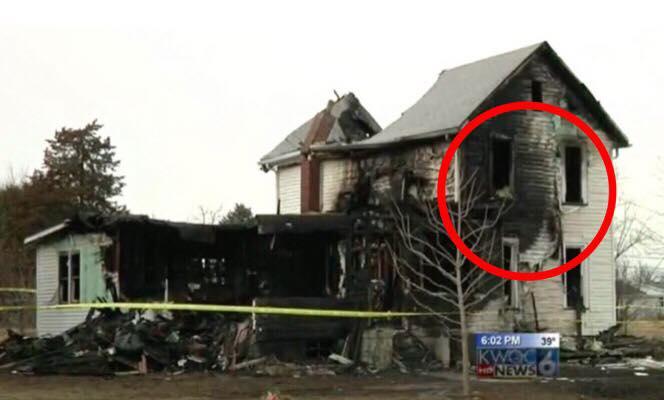 Ung mor blev fundet livløs i husbrand - da brandfolkene ankom opdagede de det umulige