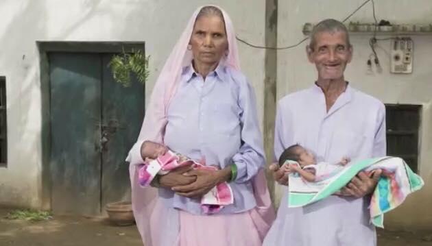 70-årige kvinde fødte tvillinger - Nu er hver dag en kamp for familien