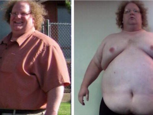 40-åriget mand vejede 227 kilo - Se nu hans utrolige forvandling 1 år senere