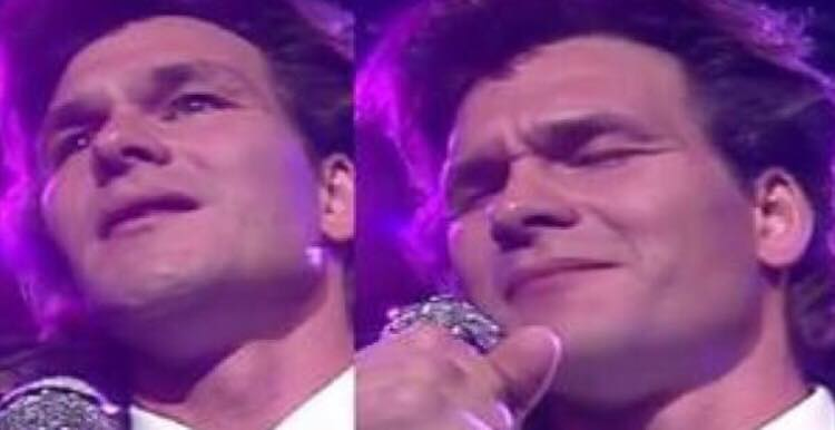 Patrick Swayze synger ''Shes Like the Wind'' - sangen vækker stadig mange følelser
