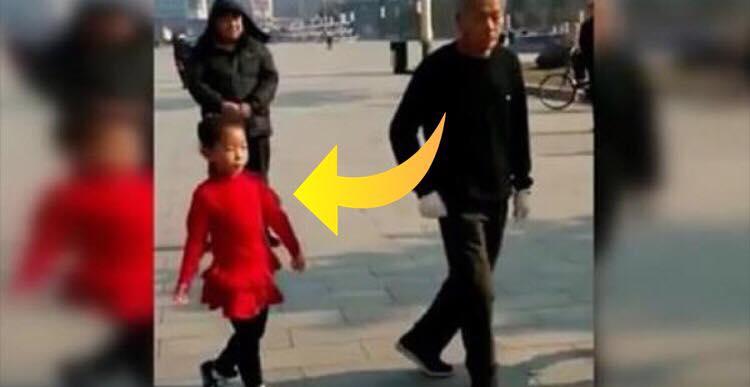 Børnebørnene voksede op med dans - se nu hvor bedstefaren engagere sig i en fælles koreografi med dem