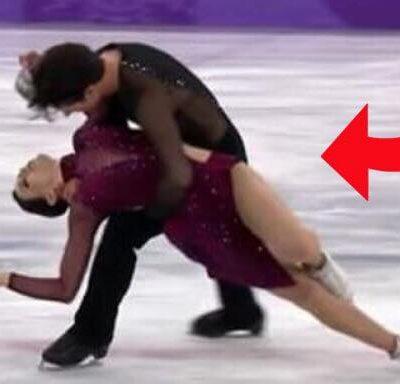 Skøjteløberne chokerede med deres koreografi til OL - det vil blive husket altid