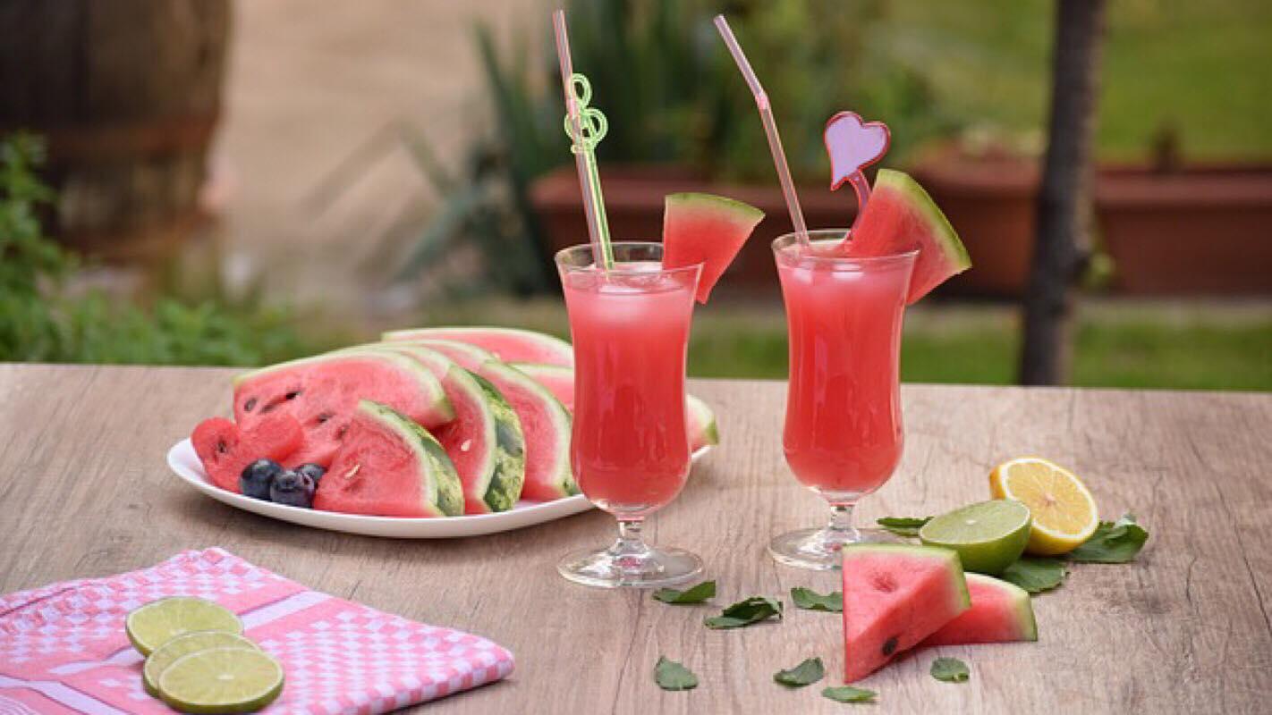 Opskrift: Vandmelon smoothie - Perfekt i sommervarmen