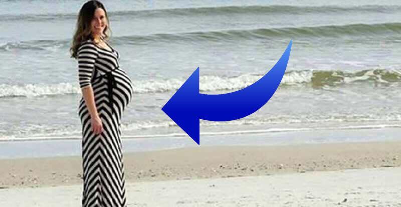 Han tager et billede af sin kone på stranden - hvad han opdager i baggrunden er ubeskriveligt