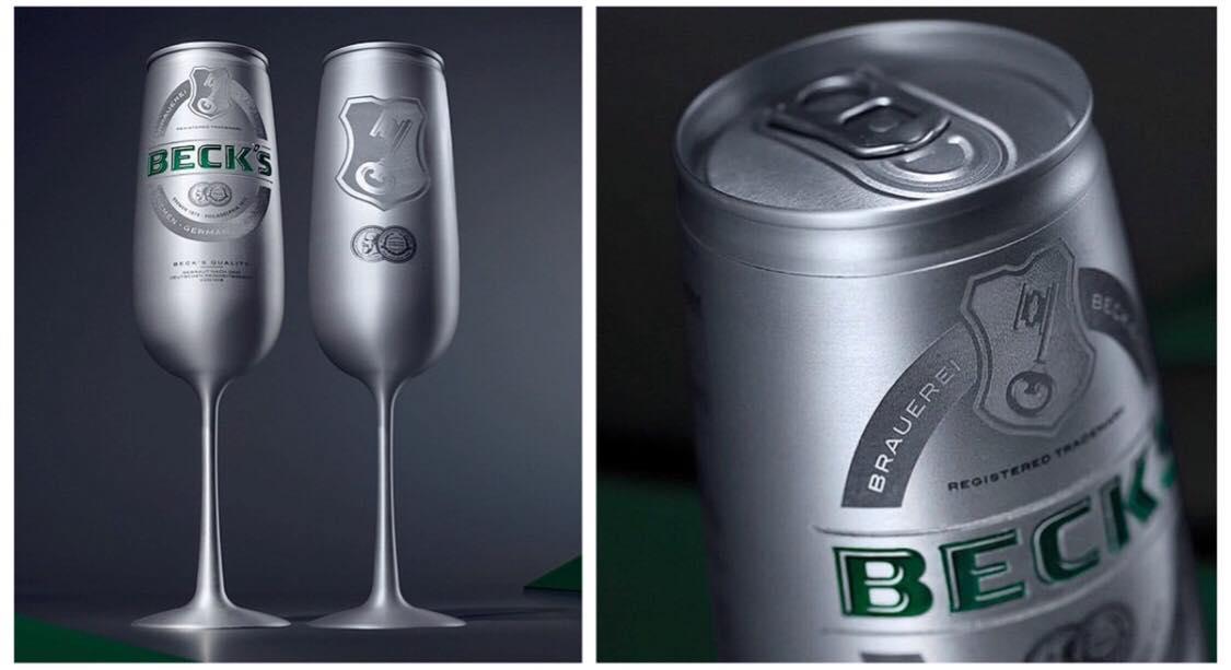 Beck's bryggeri gør nu deres øl mere ''classy'' med deres helt nye champagne-dåseøl
