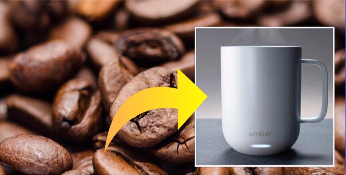 Er du heller ikke god til kold kaffe? - nu kan du opvarme din kaffe ved hjælp af din mobil