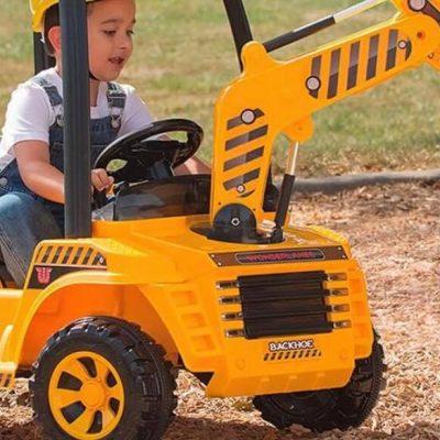 Mini el-gravemaskine til børn - det perfekte legetøj til udendørs brug!