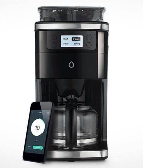 Ny teknologi: Bryg din kaffe mens du stadig ligger i sengen - blot ved hjælp af en app på din mobil