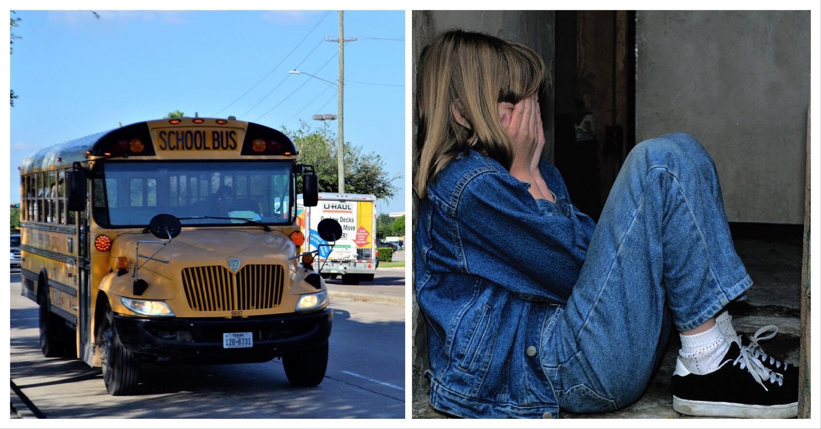 Ung pige får sin aller første menstruation i skolebussen - så gør teenagedreng noget der varmer alle om hjertet
