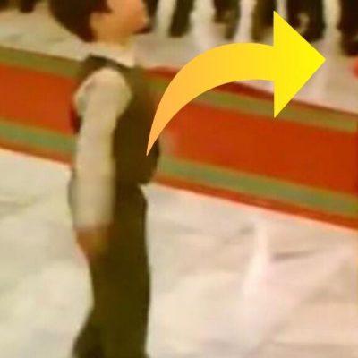 Lille dreng byder kvinde op til dans - se nu deres formidable show, der slå benene væk under alle omkring dem