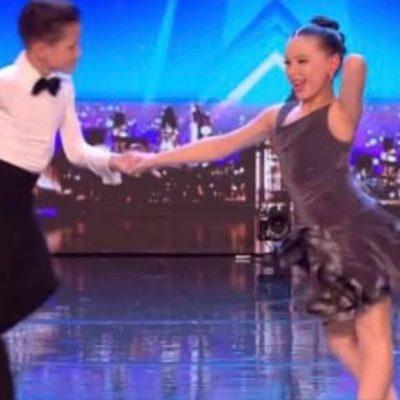 Ungt dansepar imponerer dommerne i talentshow - se deres vilde audition her