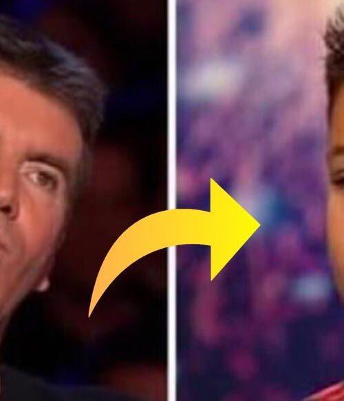 Simon afbryder dreng under audition og beder ham om at synge en anden sang - så sker det magiske!